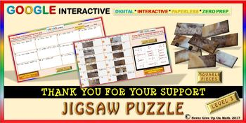 Jigsaw Puzzle: Zeros of Polynomial Functions Level 3 (Google Drive & Hard Copy)