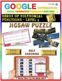 Jigsaw Puzzle: Zeros of Polynomial Functions Level 5 (Google Drive & Hard Copy)