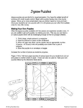 Jigsaw Puzzles (Visual Perception)