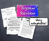 Jigsaw Review Actively Engages All Students - Templates Teacher Notes