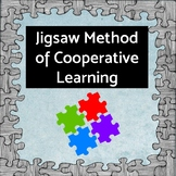 Jigsaw Method of Cooperative Learning