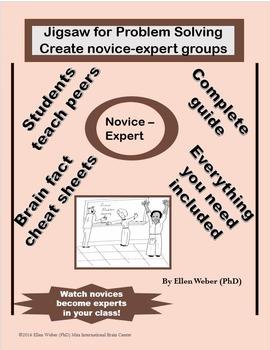 Jigsaw for Problem Solving - Create Novice-Expert Groups