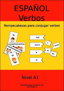Jigsaw for Spanish Verbs - learn easily the conjugation of Spanish verbs