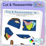 Jigsaw fun (26 distance learning worksheets for Hand-eye c