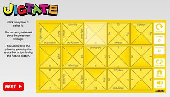 Jigtate -5 Puzzles for PCs Practice English Vocabulary (ESL)