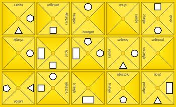 Jigtate -5 Puzzles for PCs Practice Shapes - 2D Shapes & 3D Shapes