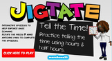 Jigtate -5 Puzzles for PCs Practice Telling the Time (Hour