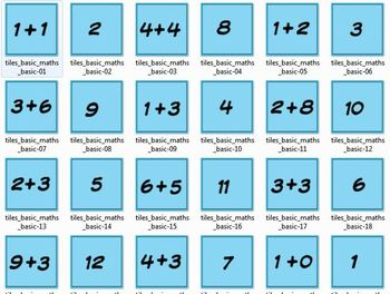 Jigtate Memory Game - 5 Memory Puzzles to Practice Kindergarten Math