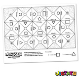 Jigtate Printables - 2D Shapes Sides and Corners Puzzle Sh