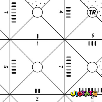 Jigtate Printables - Counting Objects 1-10 Puzzle Sheets (KMP02)