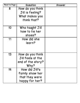 Jill's Shoelaces - Guided Reading for Growing Readers