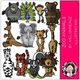 Zoo Animals clip art - by Melonheadz