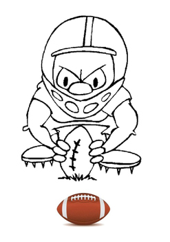 Jim Brown - American Football Word Search