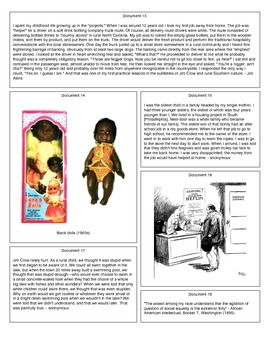 Jim Crow (Document Packet)