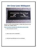 Jim Crow Laws Webquest (With Answer Key!)