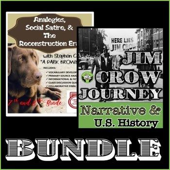Jim Crow & Reconstruction BUNDLE