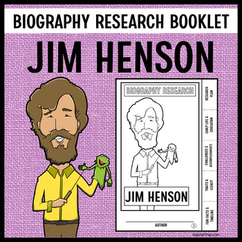 Jim Henson Biography Research Booklet