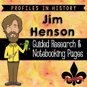 Jim Henson Guided Research Activity