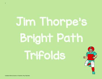 Jim Thorpe's Big Path - Reading Street 4th Grade Trifolds