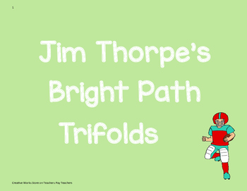Jim Thorpe's Big Path - Reading Street 4th Grade Trifolds
