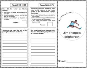Jim Thorpe's Bright Path - 4th Grade Reading Street