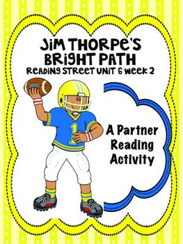 Jim Thorpe's Bright Path Reading Street 4th grade Partner Read centers group wor