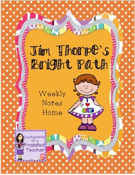 Jim Thorpe's Bright Path Weekly Letters (Scott Foresman Reading Street)