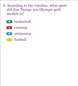 Jim Thorpe's Bright Path Smart Response Quiz