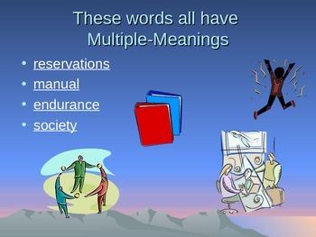 Jim Thrope Vocabulary Power Point Reading Street  2011