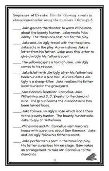 Jim Ugly (Sid Fleischman) Novel Study / Literature Unit