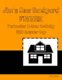 Jim's New Backyard -Area & Perimeter Activity