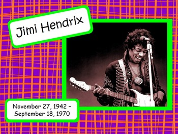 Jimi Hendrix: Musician in the Spotlight