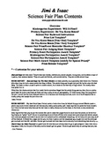 Jimi and Isaac Books Science Fair Kit (PDF Version)