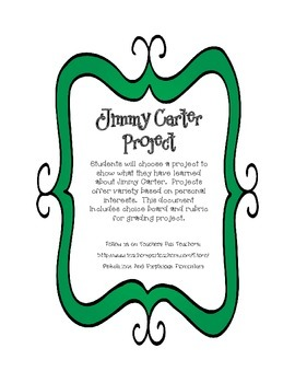 Jimmy Carter Differentiated Project Personal Interests Cho