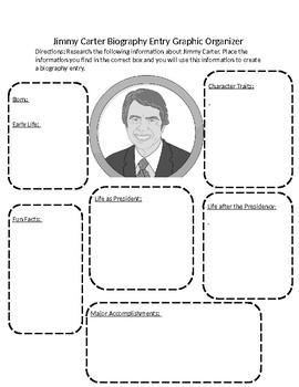 Jimmy Carter Graphic Organizer
