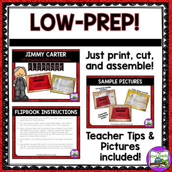 Jimmy Carter:  Interactive Biography Flipbook