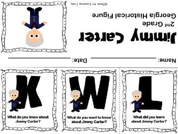 Jimmy Carter KWL Flipbook ~ FREEBIE
