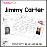 Jimmy Carter PebbleGo research brochure