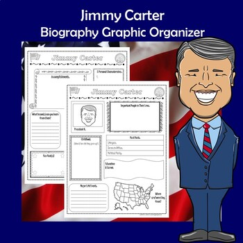 Jimmy Carter President Biography Research Graphic Organizer