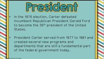 Georgia Studies: Jimmy Carter (SS8H12b)
