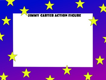 Presidents' Day Jimmy Carter Task Action Figure Play Set