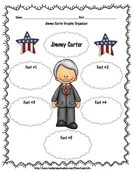 Jimmy Carter Writing Activity FREEBIE of the WEEK!