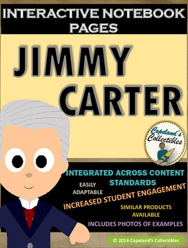 Jimmy Carter's Interactive Notebook Pages