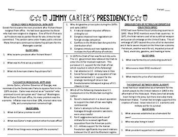 Jimmy Carter's Presidency