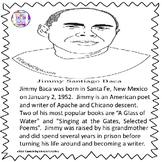 Jimmy Santiago Baca Coloring Page