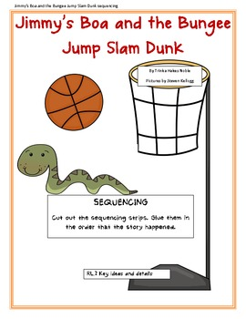 Jimmy's Boa and the Bungee Jump Slam Dunk sequencing
