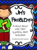 Jim's Problem: A short reading passage with TRC question stem activities