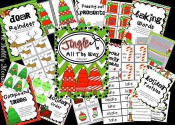 Jingle All The Way~ Christmas Literacy Centers
