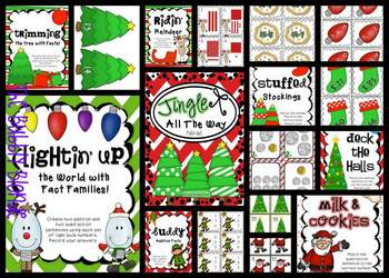 Jingle All The Way~ Christmas Math Centers