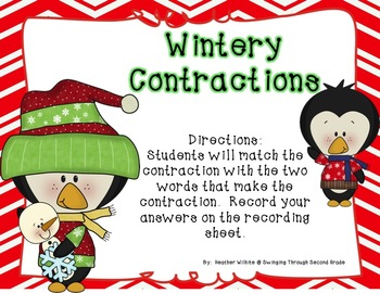 Jingle All the Way Literacy Centers